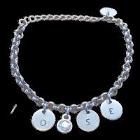 Moeder initialen armband