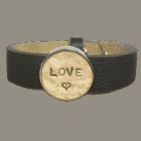 Initialen armband even
