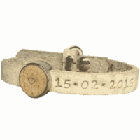 initialen armband small