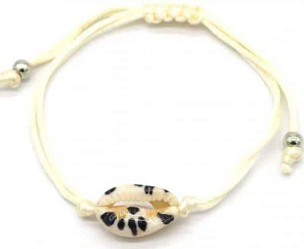 armband leeuwpaard schelp