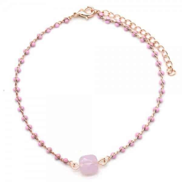 armband roze goud