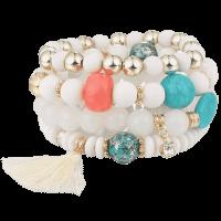 Bohemian Power Slake armband wit