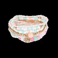 Bohemian Strand Armband Pulseras Mujer Femme Rainbow