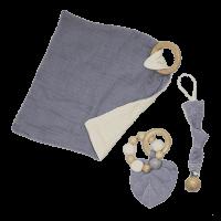 Combinatie troostpakket baby grijs