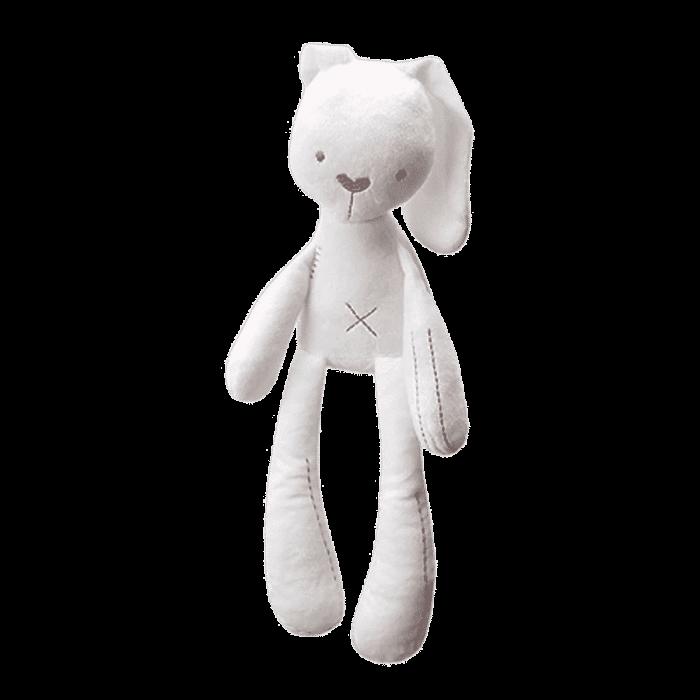 Knuffel konijn wit