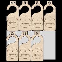 Maathanger newborn design baby kleding