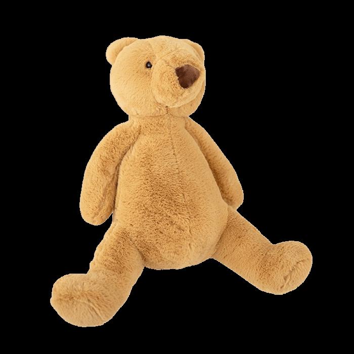 Echte knuffel beer bruin 25 cm