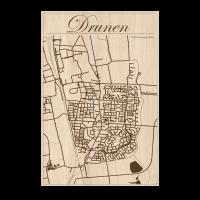 City maps drunen decoratie gratis standaard