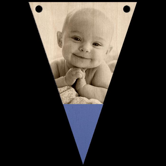 Babyfoto naamslinger met punt Gratis koord